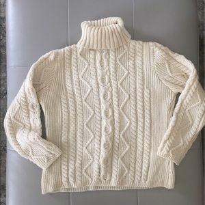 🍁 Paul James 100% wool sweater size Medium